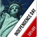 Celebrate the Independence Day! 20% OFF on All Templates