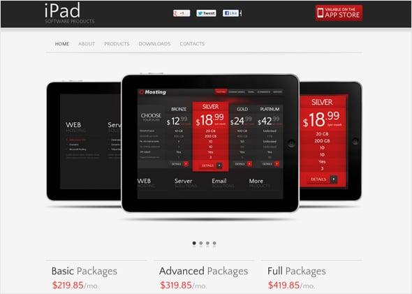 E-commerce CMS Website Template