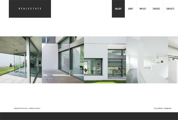 Логичный и функциональный сайт по продаже недвижимости