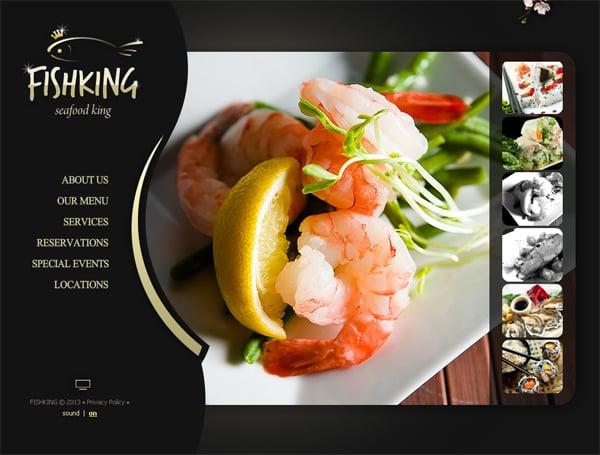 Сайт для суши бара