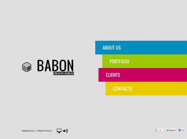 Шаблон сайта для дизайн студии