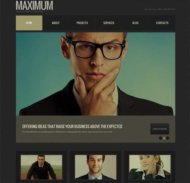 Шаблон сайта для быстрого стартапа