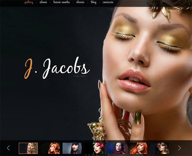 Шаблон сайта для студии красоты