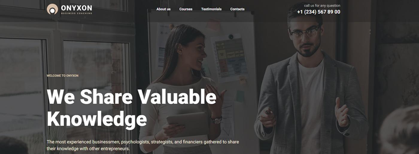 MotoCMS Corporate Website