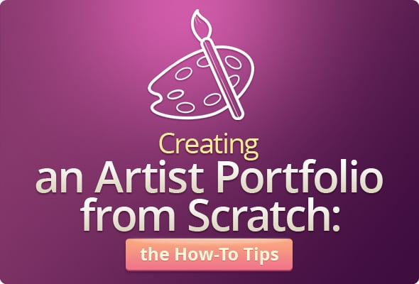 How to Create an Artist's Portfolio From Scratch