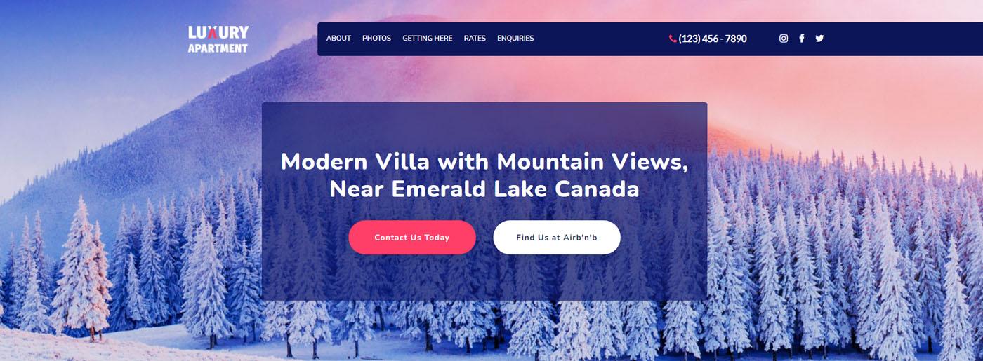 Host Website Design