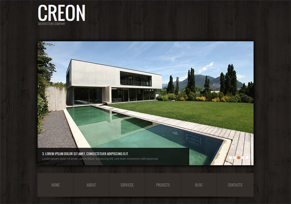 Architecture Website template for Small Business
