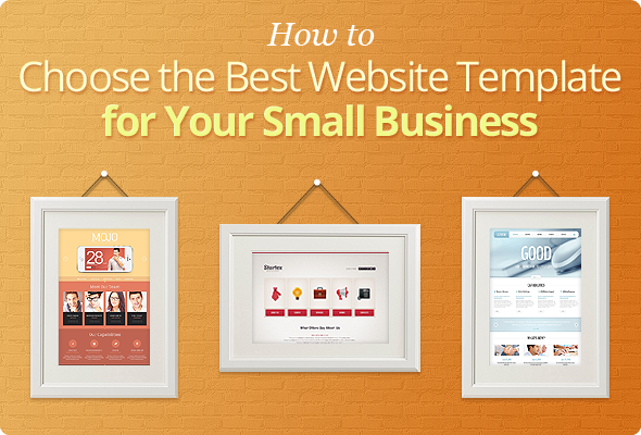 Choose Best Template for Small Business
