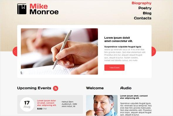 Less is More Web Design