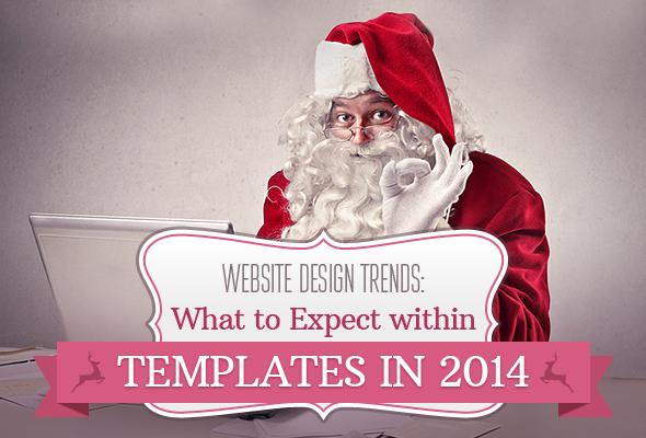 Web Design Templates Trends 2014