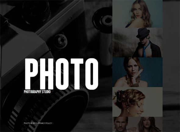 Black and White Trends in Web Design