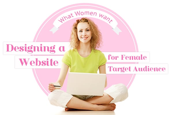 Designing a Website for Female Target Audience