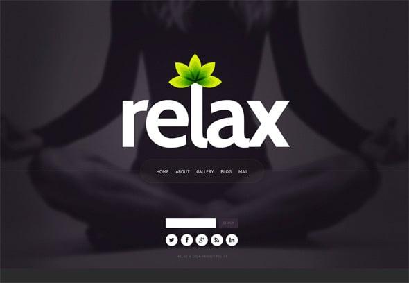 Women Targeted Yoga Website Template