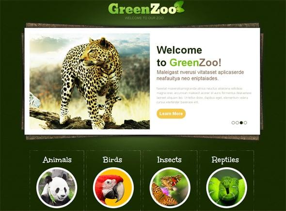 Zoo Website Template