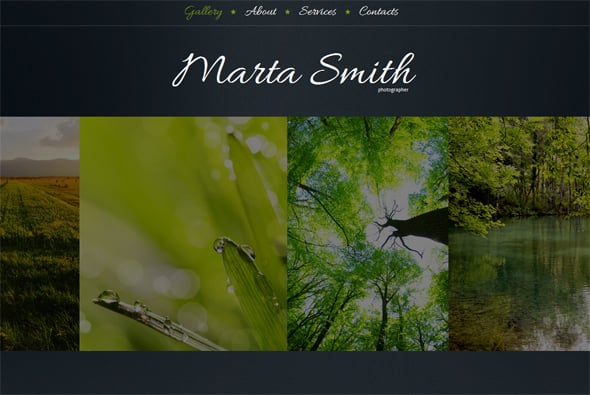 Photography Web Portfolio