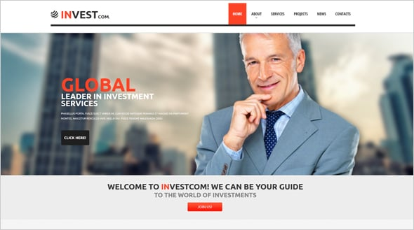 Commercial Consulting Web Template