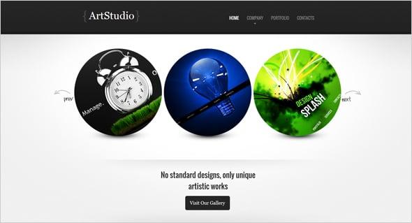 Web Designer's Portfolio Template