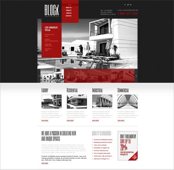 Construction Website Templates for Companies Building Future