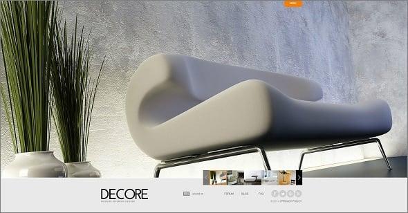 Decor Studio Website Template