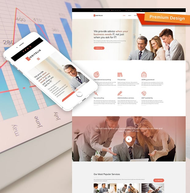 How to Make an Accounting Website: Best Examples