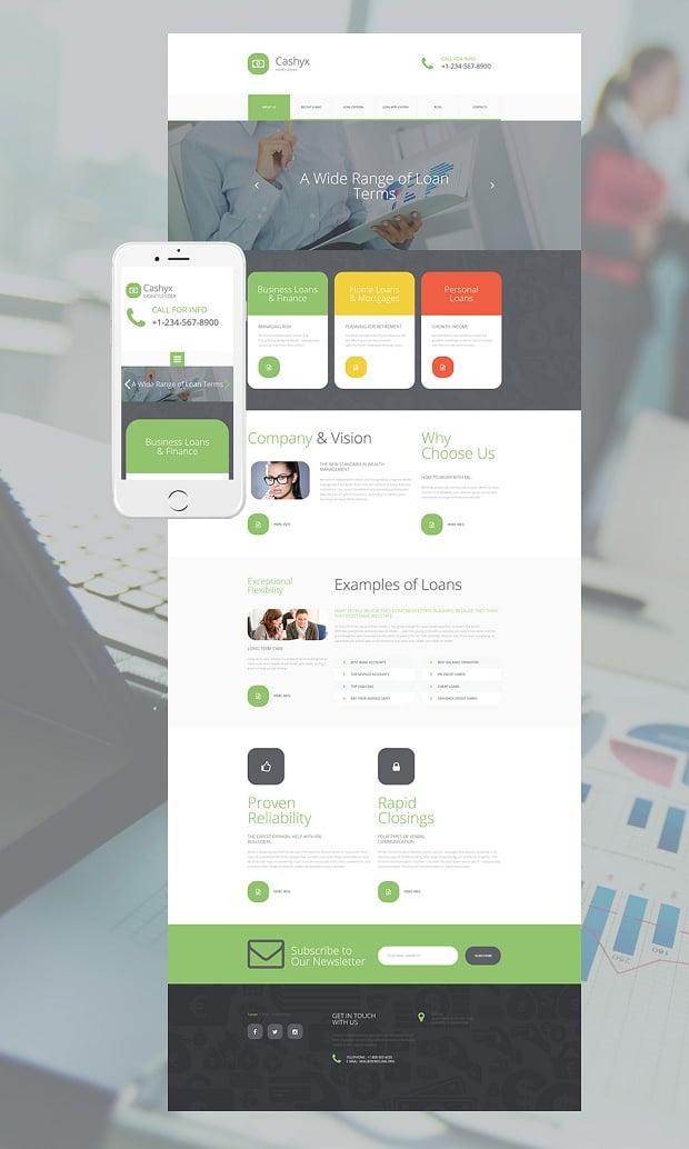 Wie man eine Finanzen Website erstellt - die besten Beispiele