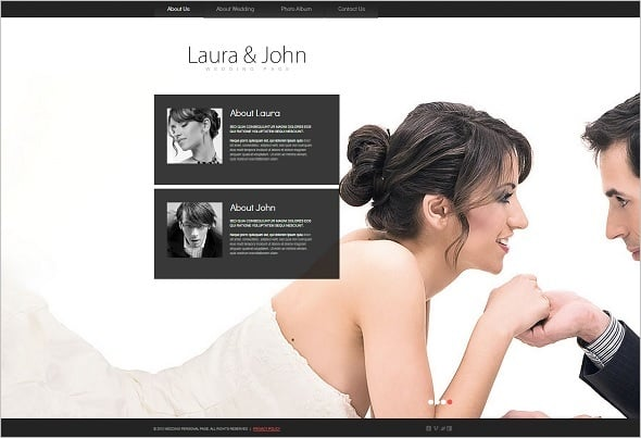 Personalized Engagement Website Template