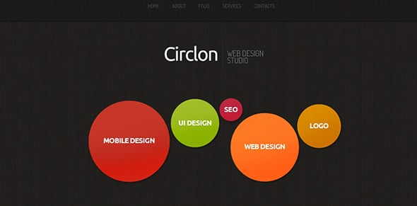 Website for Web Designer Creative Template