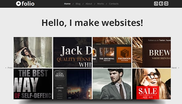 Web Design Template