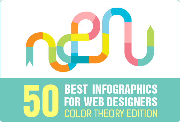 50 Best Infographics - Color Theory Edition
