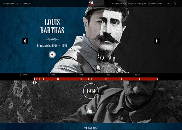 Tagebücher des Ersten Weltkriegs Website