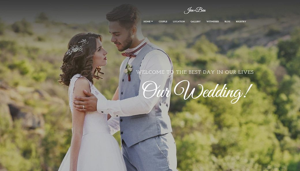 Website Template for Couples image