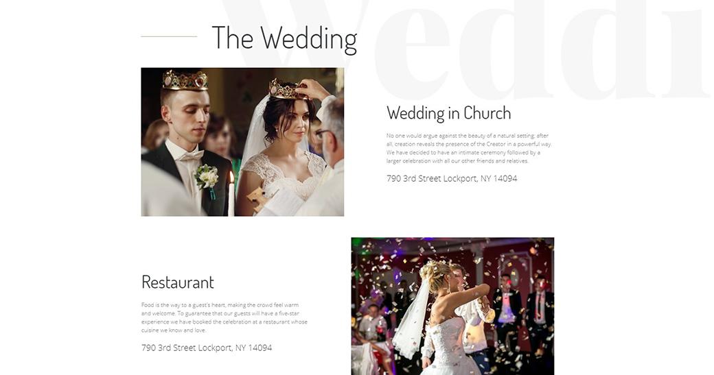 Wedding Content image