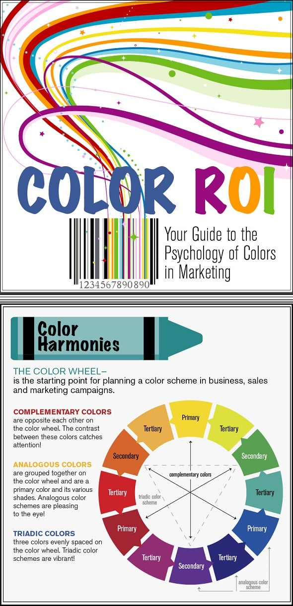 Color ROI Best Infographics