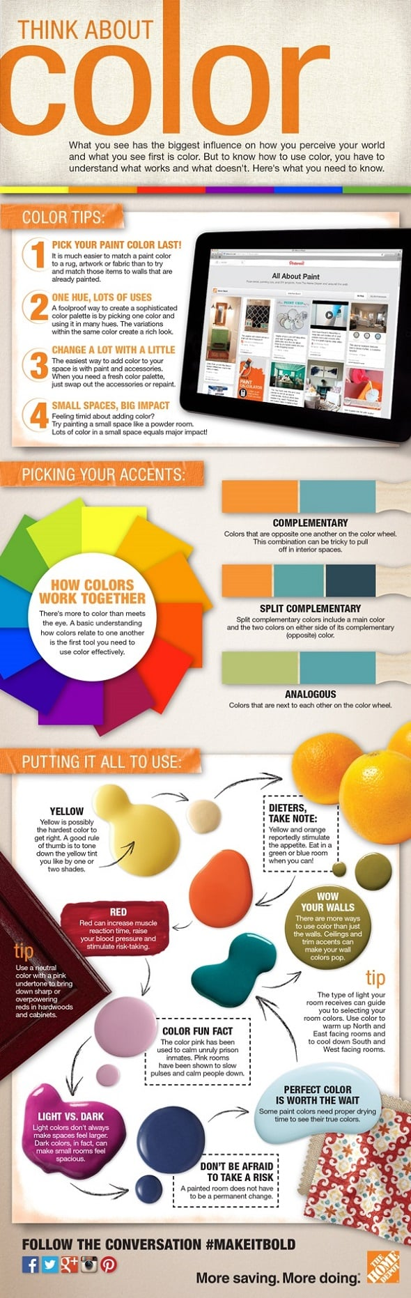 Using the Color Wheel