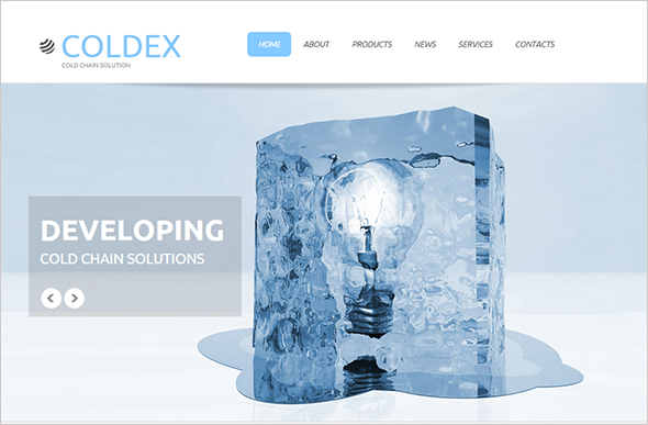 Transparency in Web Design Template