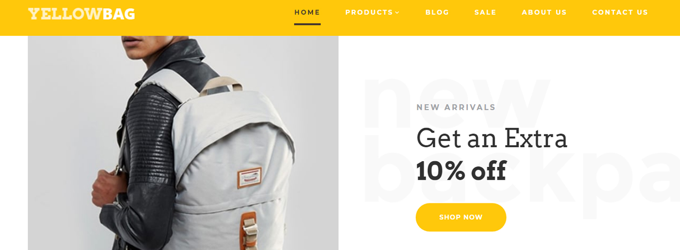 Fashion Ecommerce Website Design for Backpacks Store https://www.motocms.com/website-templates/motocms-ecommerce-template/backpacks-store-site-97501/