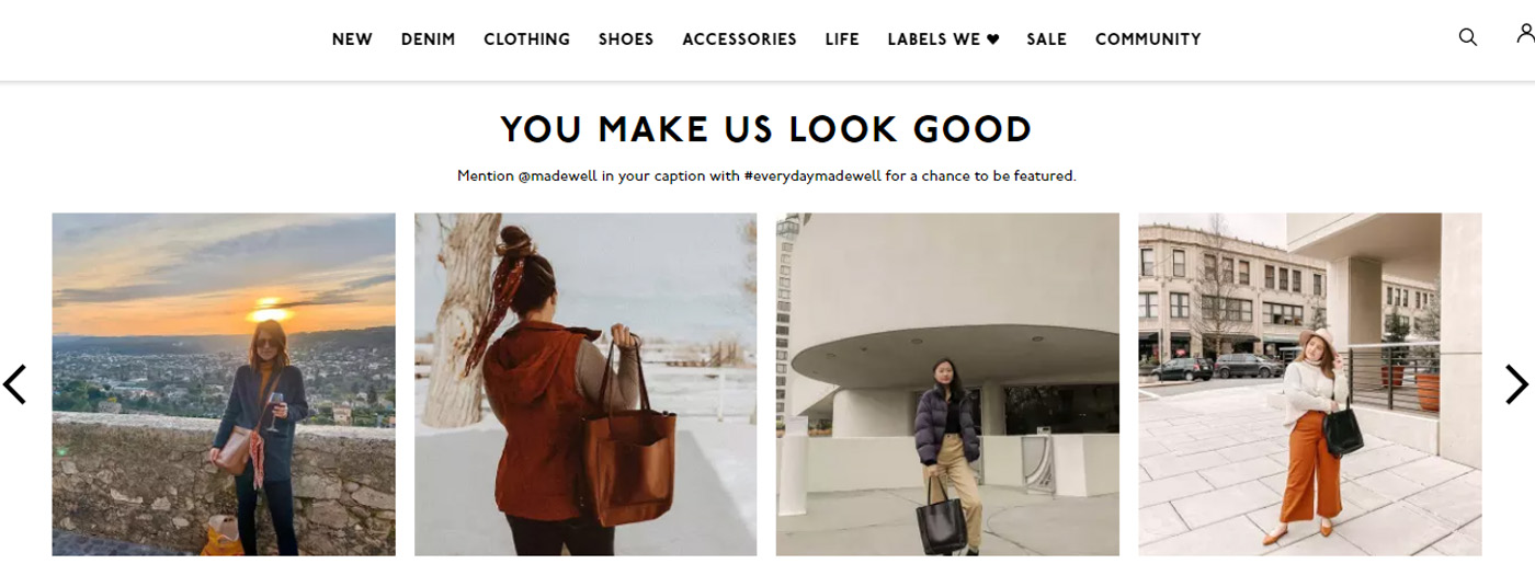 Use Social Media for Women's Clothes Website