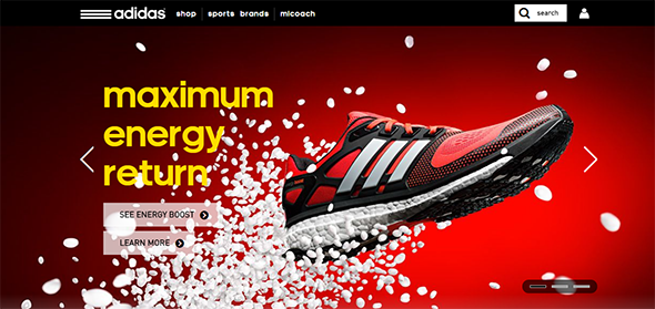 Adidas Brand Building Website