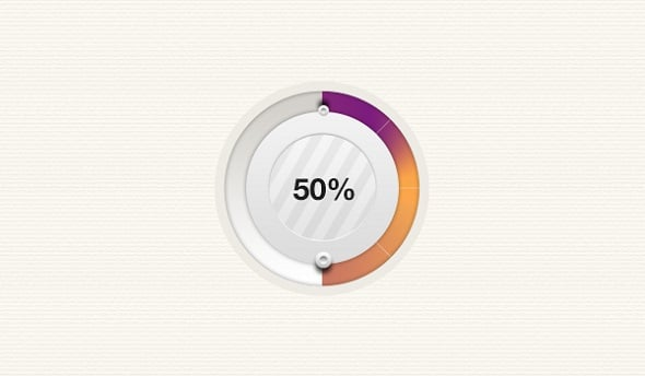 Best Web Design Articles - Beautiful and Highly Usable Progress Bar PSD Downloads