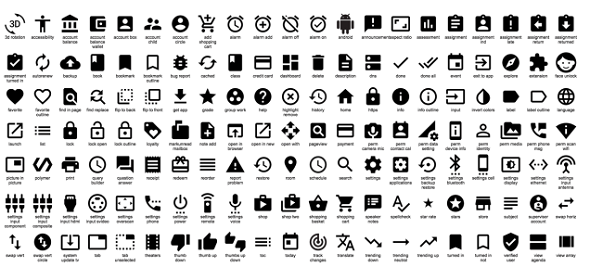 Best Web Design Articles - Google Just Released Hundreds of Cool Icons That You Can Use For Free