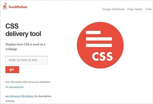 Free SEO Tools - http://www.feedthebot.com/tools/css-delivery/