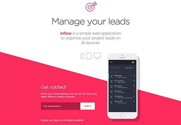 Inflowapp Building Brand Website