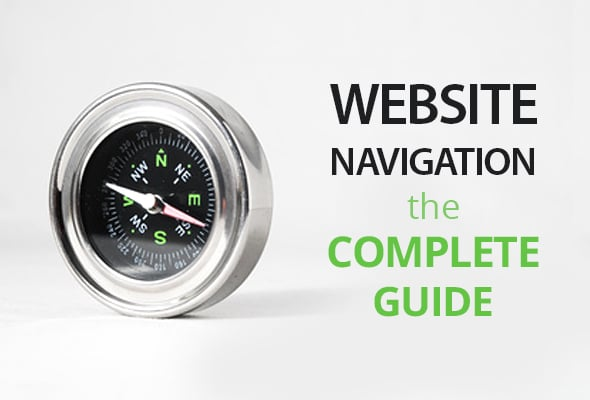 Website Navigation - main