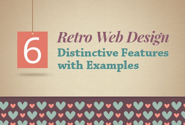 Retro Web Design Features