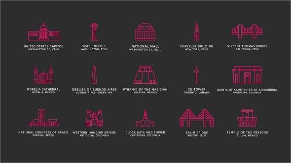 Freebie: Touristic Icons