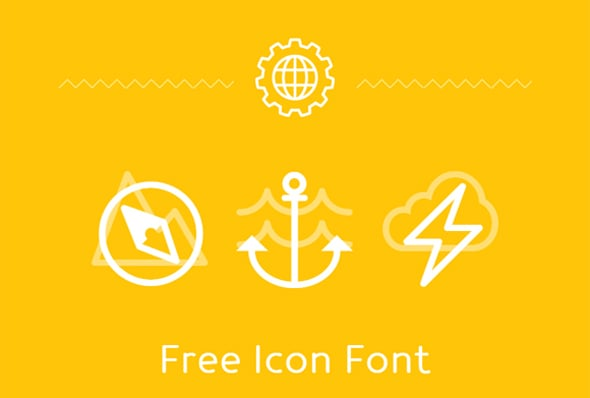 20 Gorgeous Free Icon Fonts to Use in Your Designs