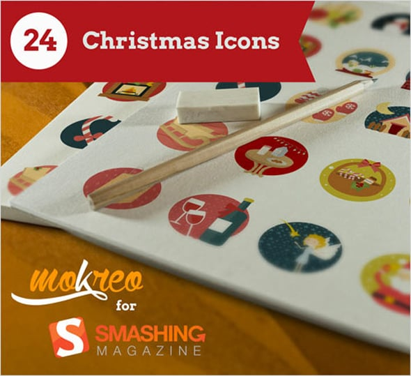 Smashing Magazine - Freebie: Christmas Icon Set