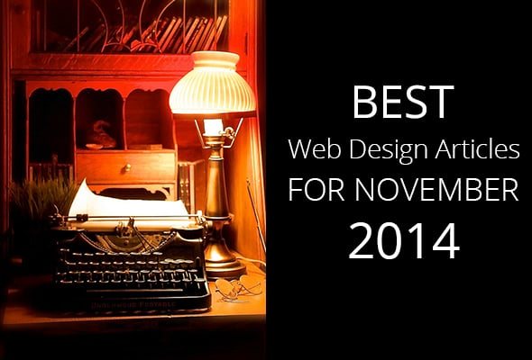 Best Web Design Articles for November