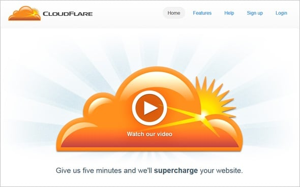 Increase Website Speed - CloudFlare
