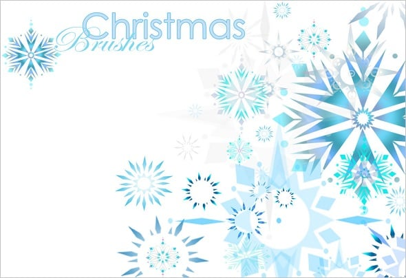 Christmas Photoshop Brushes Set